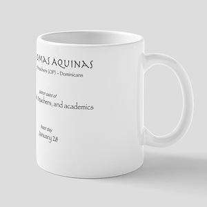 st. thomas aquinas, patron saint for st Mug