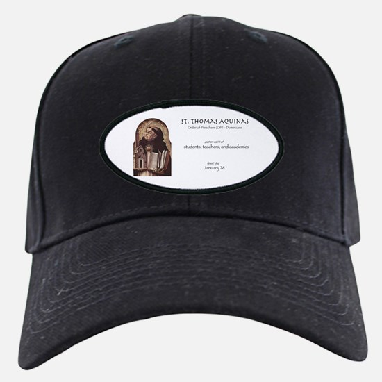 st. thomas aquinas, patron saint for stu Baseball Hat