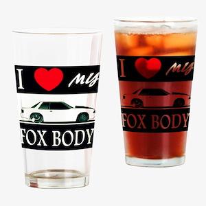 I love my Fox Body Drinking Glass