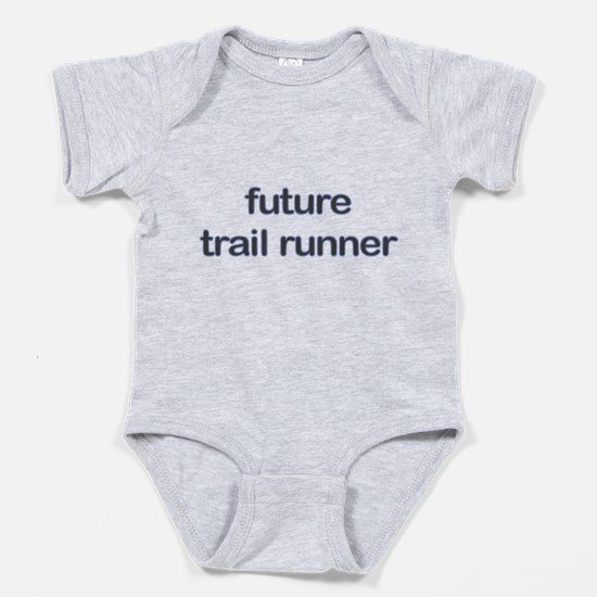 Future Trailrun Blue Dark Baby Bodysuit