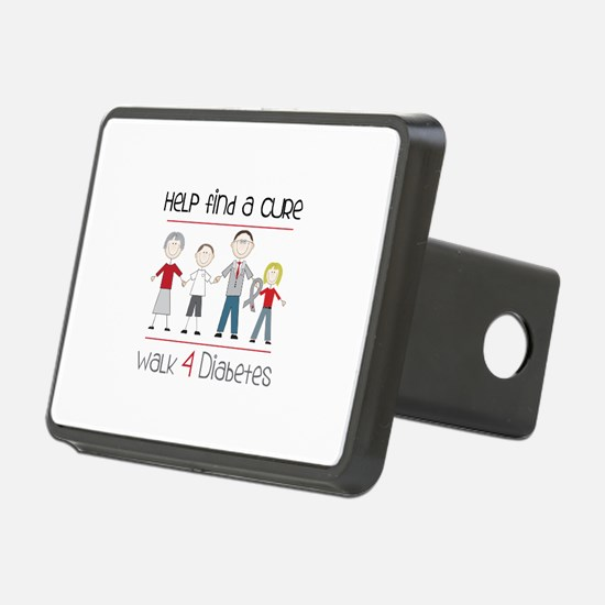 Help Find A Cure Walk 4 Diabetes Hitch Cover