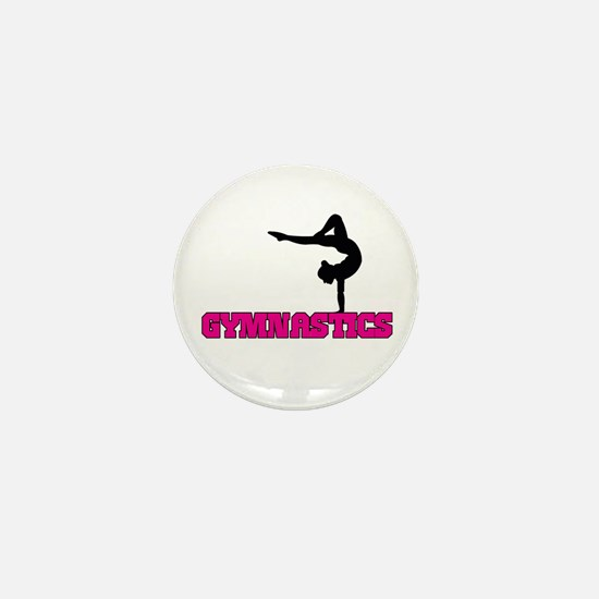 Gymnastics Mini Button