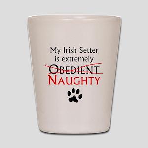 Naughty Irish Setter Shot Glass