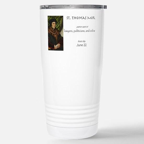 st. thomas more, patron Stainless Steel Travel Mug