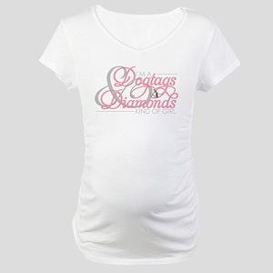 dogtagsanddiamonds Maternity T-Shirt
