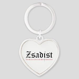 Zsadist Heart Keychain Keychains