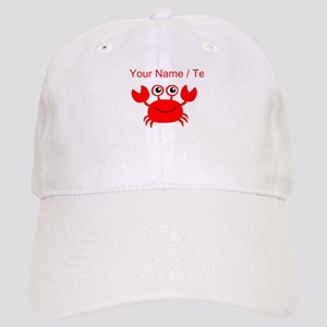 Custom Red Crab Cap
