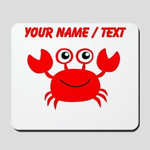Custom Red Crab Mousepad