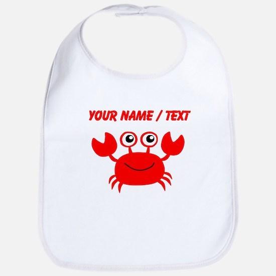 Custom Red Crab Bib