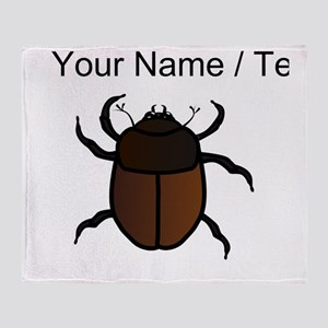 Custom Junebug Throw Blanket