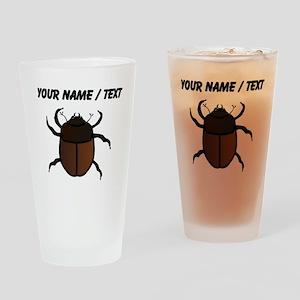 Custom Junebug Drinking Glass