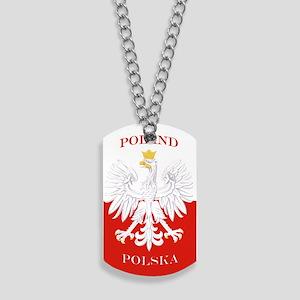 Poland Polska White Eagle Flag Dog Tags