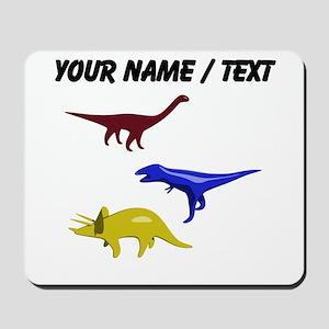 Custom Dinosaurs Mousepad