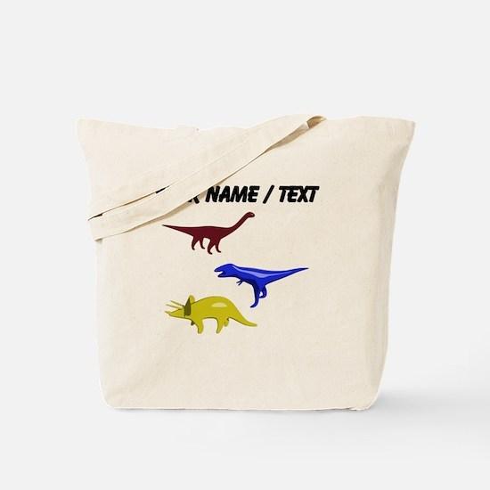 Custom Dinosaurs Tote Bag