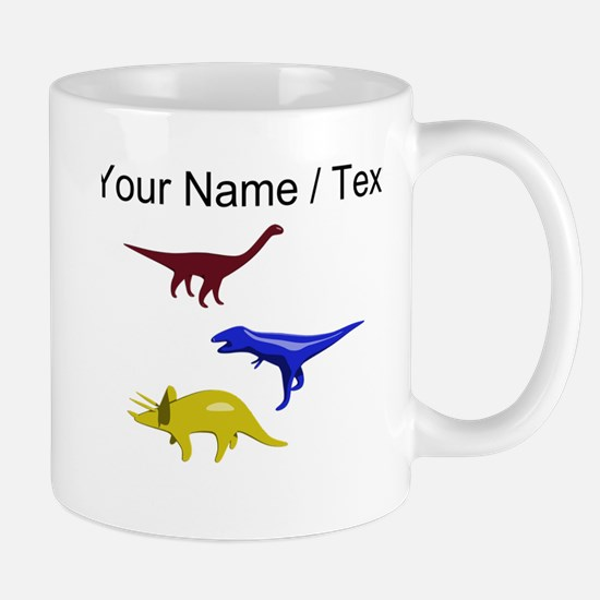 Custom Dinosaurs Mugs