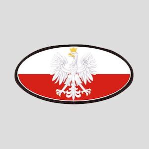 Poland Polska White Eagle Flag Patches
