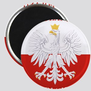 Poland Polska White Eagle Flag Magnets