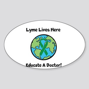 Lyme Disease Awareness Sticker