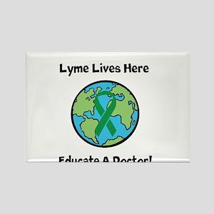 Lyme Disease Awareness Magnets