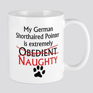 Naughty German Shorthaired Pointer Mugs