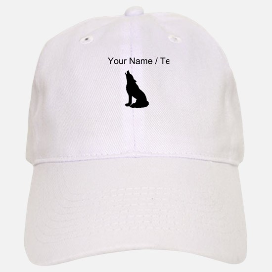 Custom Howling Wolf Baseball Baseball Cap