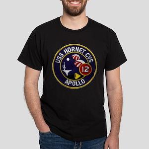USS Hornet & Apollo 12 Dark T-Shirt