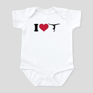 I love Gymnastics Infant Bodysuit
