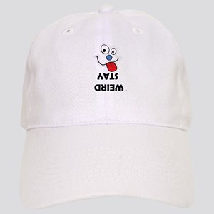 Stay Weird Funky Smiley Face Baseball Cap