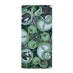 Celtic Stormy Sea Mandala Beach Towel