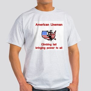 American Lineman Light T-Shirt