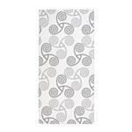 Celtic Triple Spiral Beach Towel