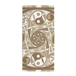Celtic Spiral Stepping Stone Beach Towel