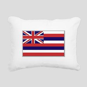 Flag of Hawaii Rectangular Canvas Pillow