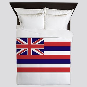 Flag of Hawaii Queen Duvet