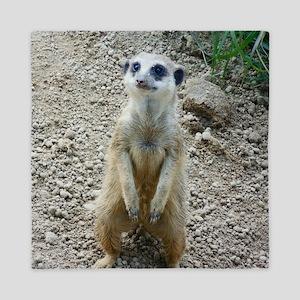 Meerkat Queen Duvet