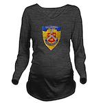 USS BRADLEY Long Sleeve Maternity T-Shirt
