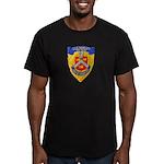 USS BRADLEY Men's Fitted T-Shirt (dark)