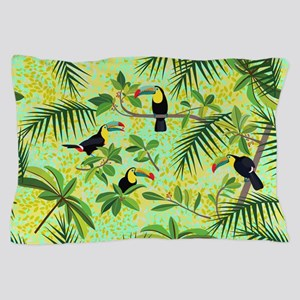 Toucans, Pillow Case