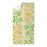 Abstract Arabic Design Beach Towel