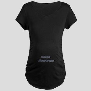 Future Ultrarun Blue Maternity Dark T-Shirt