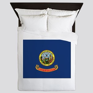 Flag of Idaho Queen Duvet