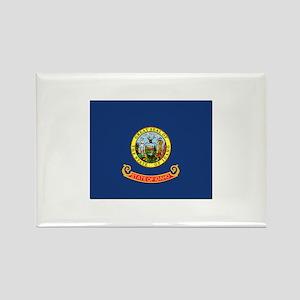 Flag of Idaho Rectangle Magnet