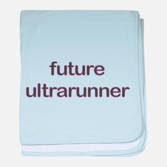 Future Ultrarun Purple baby blanket
