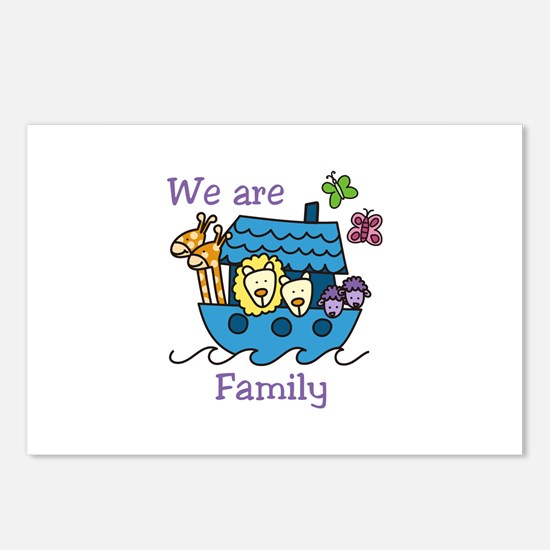 We Are Family Postcards (Package of 8)