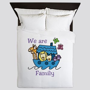 We Are Family Queen Duvet