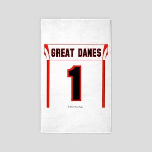 Great Dane Jersey 3'x5' Area Rug