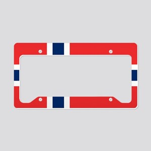 Flag of Norway License Plate Holder
