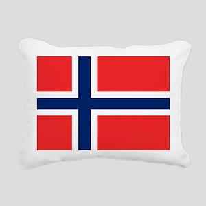 Flag of Norway Rectangular Canvas Pillow