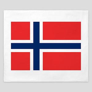 Flag of Norway King Duvet