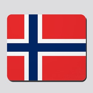 Flag of Norway Mousepad